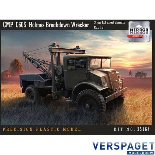 CMP C60S Holmes Breakdown Wrecker  3 ton 4x4 short chassis Cab 13 -35164