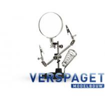 Derde Handje & Loep & Soldeerhouder -PCL2300