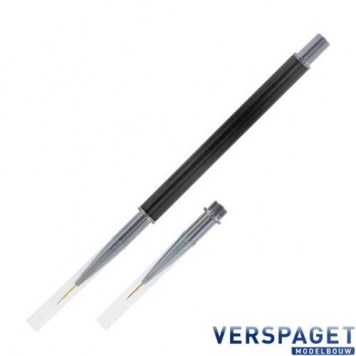 Penseeltje & Metalen Verwisselbare Tip 7mm & 9mm -PBB179