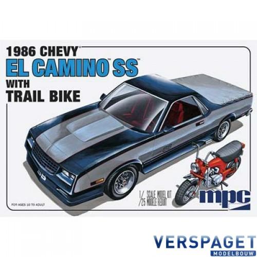 1986 Chevy El Camino SS w/Dirt Bike -888