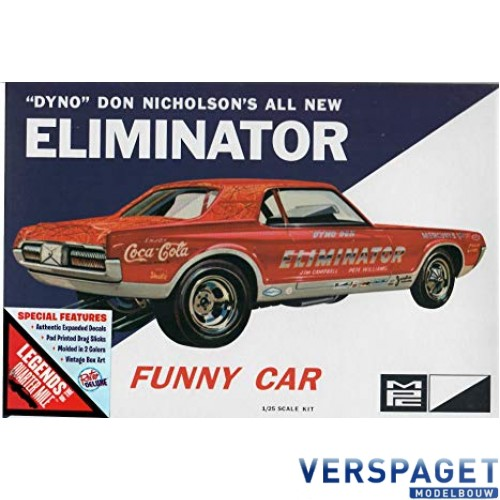 Eliminator Funny Car -889