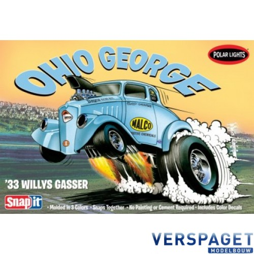 Willys Coupe Snap Draggin 1933 Snap-Kit -890