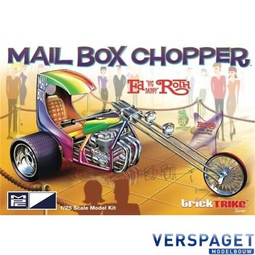 ED ROTH'S MAIL BOX CHOPPER CUSTOM TRIKE -892