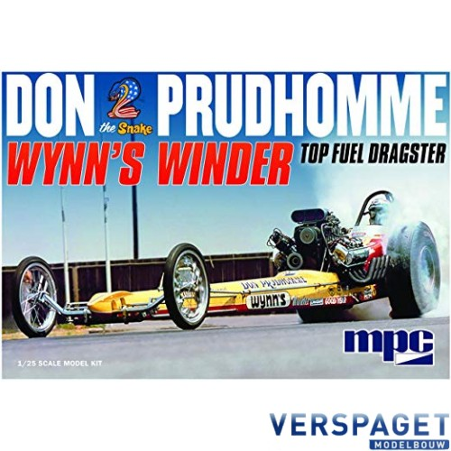 Don Snake Prudhomme Wynns Winder Dragster -921