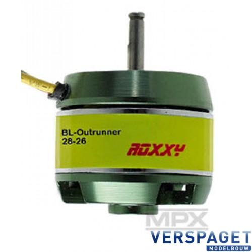 ROXXY BL Outrunner C28-26-800kV NAVY -314987