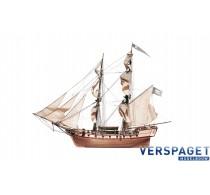 Corsair Houten Model Schip -13600