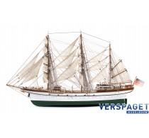 Gorch Fock Houten Modelbouw Schip -15003