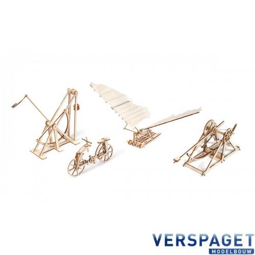 Leonardo Da Vinci  machines -20000