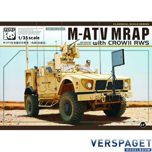 M-ATV MRAP  with CROW II RWS -PH35007