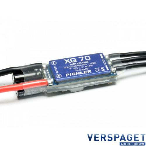 Aandrijfset  Boost 60 Brushless Motor & XQ 70 ESC -C3174