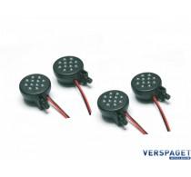 LED verlichting set 4 stuks 36 mm 4,8-6 volt -C8490