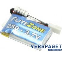 LiPo accupack 3.7 V 250 mAh -C6107