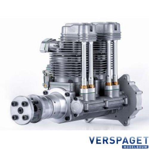 Gas Engine GF 60 i 4 takt 2 cilinder Benzine Motor & Uitlaat -C6190