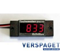 TachoMeter NGH 2 Takt Engines -C5004