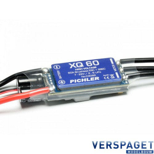 BRUSHLESS ESC XQ-60 -C3092
