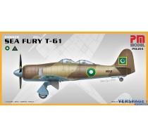 Hawker Sea Fury T-61 2 seat version -PM214