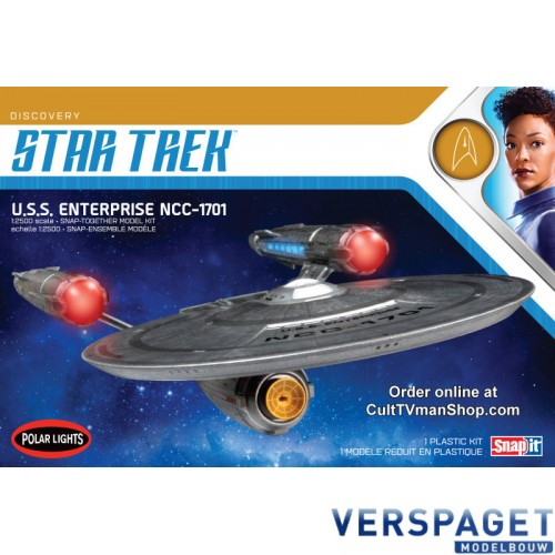 USS Enterprise From TV Serie Discovery Snap It -971