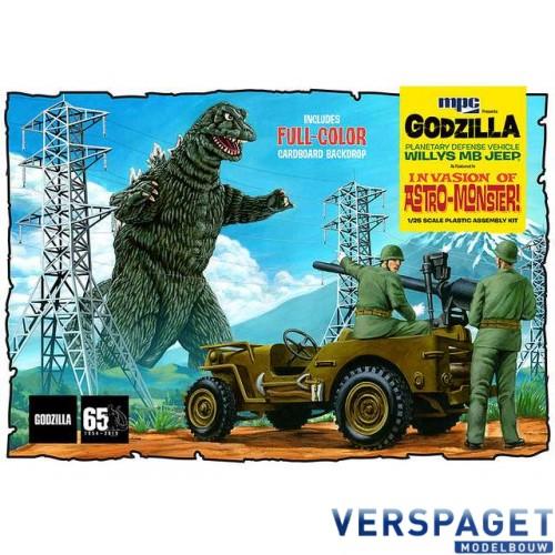 Godzilla & Willy's Army Jeep -882