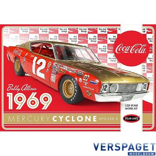 Bobby Alison 1969 Coca Cola Mercury Cyclone -948