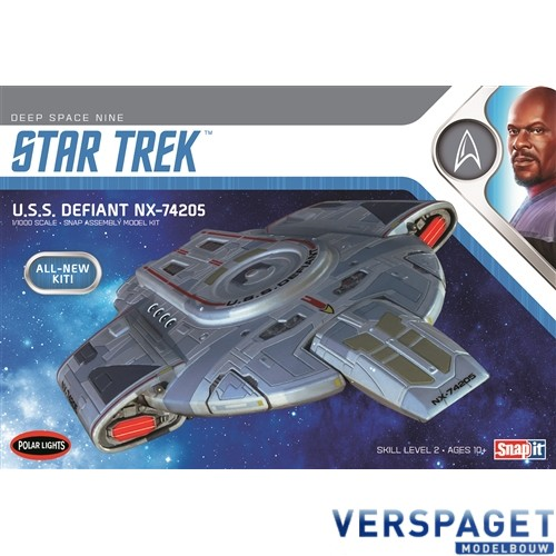 Star Trek U.S.S. Defiant Snap It -952