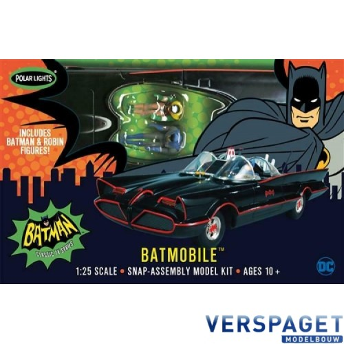 Batmobile & Batman & Robin Snap it -965