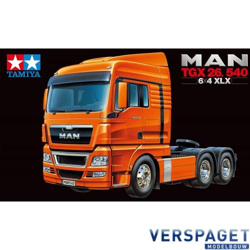 MAN TGX 26.540 6x4 XLX EURO & Gratis Accu pack 7,2 volt 3000 Mah  twv 22,99