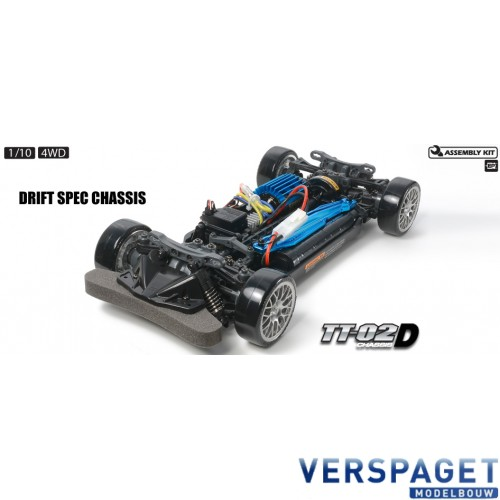 TT-02 D Rollend Chassis