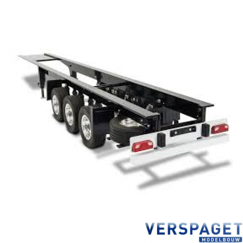 3 Assige Oplegger Chassis