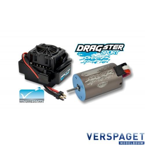 Brushless Motor Shooter Sport 8 Turns & Dragster Sport ESC