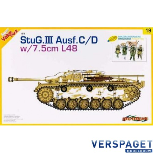 StuG III Ausf.C/D w/7,5cm L/48 -(9119)