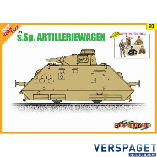s Sp Artilleriewagen Orange Box 9120