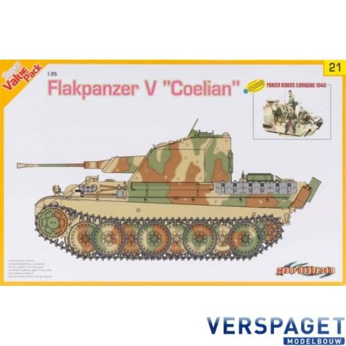 Flakpanzer V Coelian w/Panzer Riders -9121