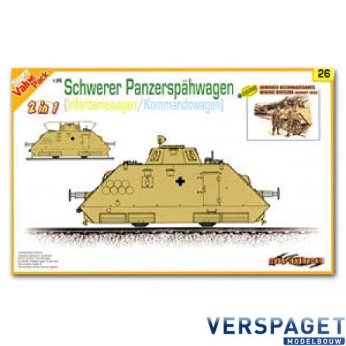 Schwerer Panzerspahwagen Infanteriewagen/Kommandowagen -9126