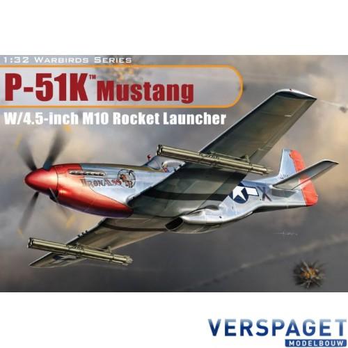 P-51K Mustang w/4.5 inch M10 Rocket Launcher-3224
