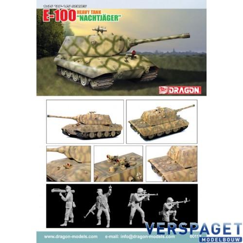"""E-100 Heavy Tank """"Nachtjager"""" -6011"""