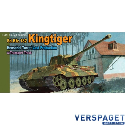 King Tiger Henschel turret Last production