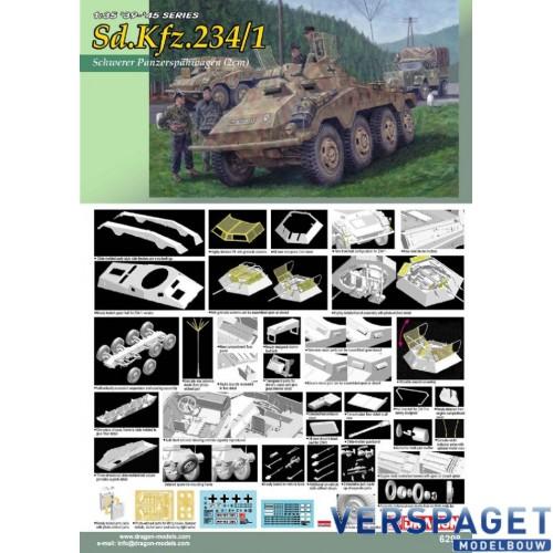Sd.Kfz.234/1 Schwerer Panzerspahwagen (2cm) -6298