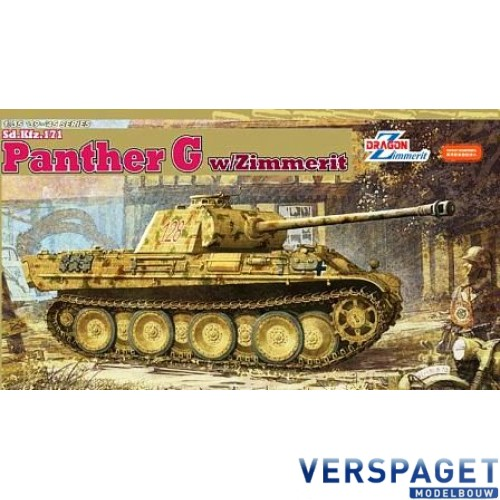 Sd.Kfz.171 Panther G w/Zimmerit -6384