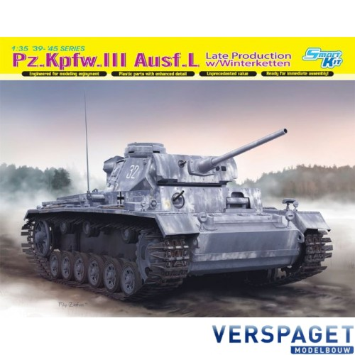 Pz.Kpfw.III Ausf.L Late Production w/Winterketten-6387