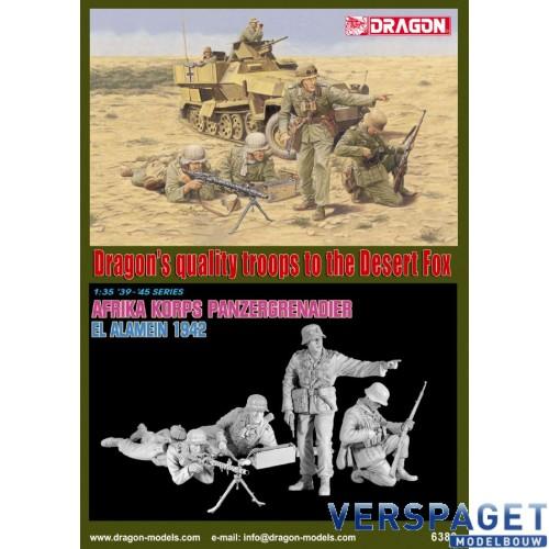 Afrika Korps Panzergrenadier (El Alamein 1942) -6389