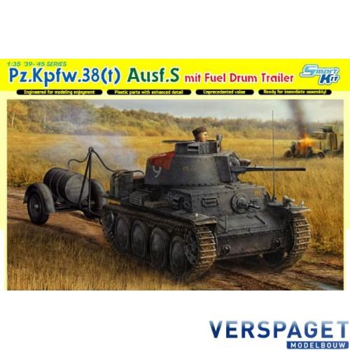 Pz.Kpfw.38(t) Ausf.S mit Fuel Drum Trailer-6435