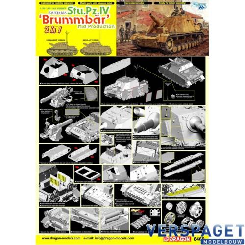"""Sd.Kfz.166 Stu.Pz.IV """"Brummbar"""" Mid Production -6460"""