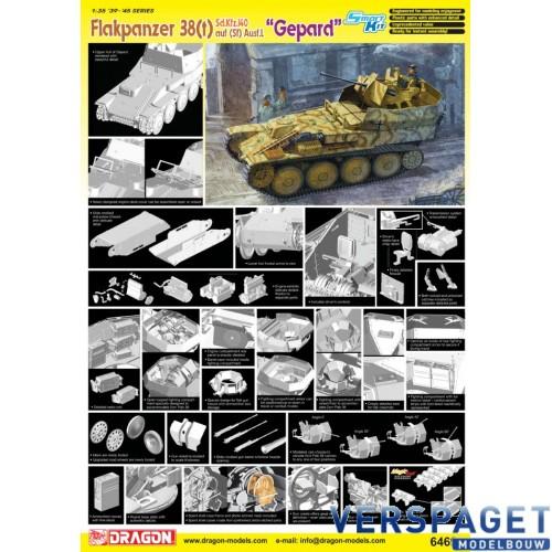 "Sd.Kfz.140 Flakpanzer 38(t) Auf (Sf) Ausf.L ""Gepard""-6469"