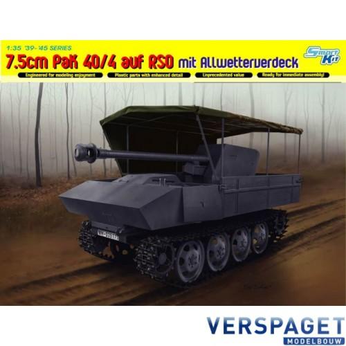 7.5cm PaK 40/4 auf RSO mit Allwetterverdeck-6679