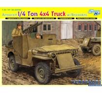 1/4-Ton 4x4 Armored Truck w/Bazooka