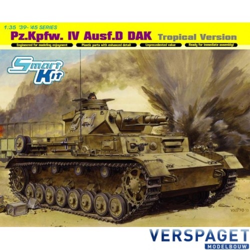 Pz.Kpfw.IV Ausf.D DAK Tropical Version-6779