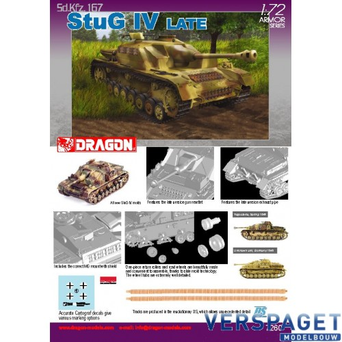 Sd.Kfz.167 StuG IV Late Production -7260