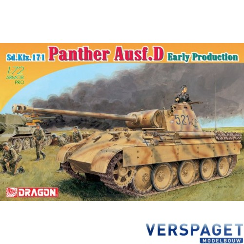 Sd.Kfz.171 Panther Ausf.D Early Production-7494