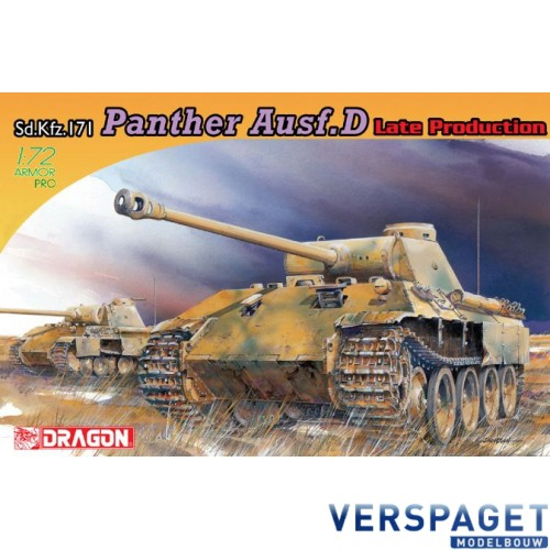 Panther Ausf.D Late Production-7506