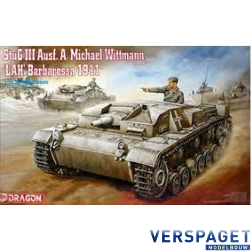 German Stug 3 Michael Wittmann Barbarossa -9031